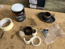 Gear Stick Refurbishment Kit from Just Kampers and Moly Grease