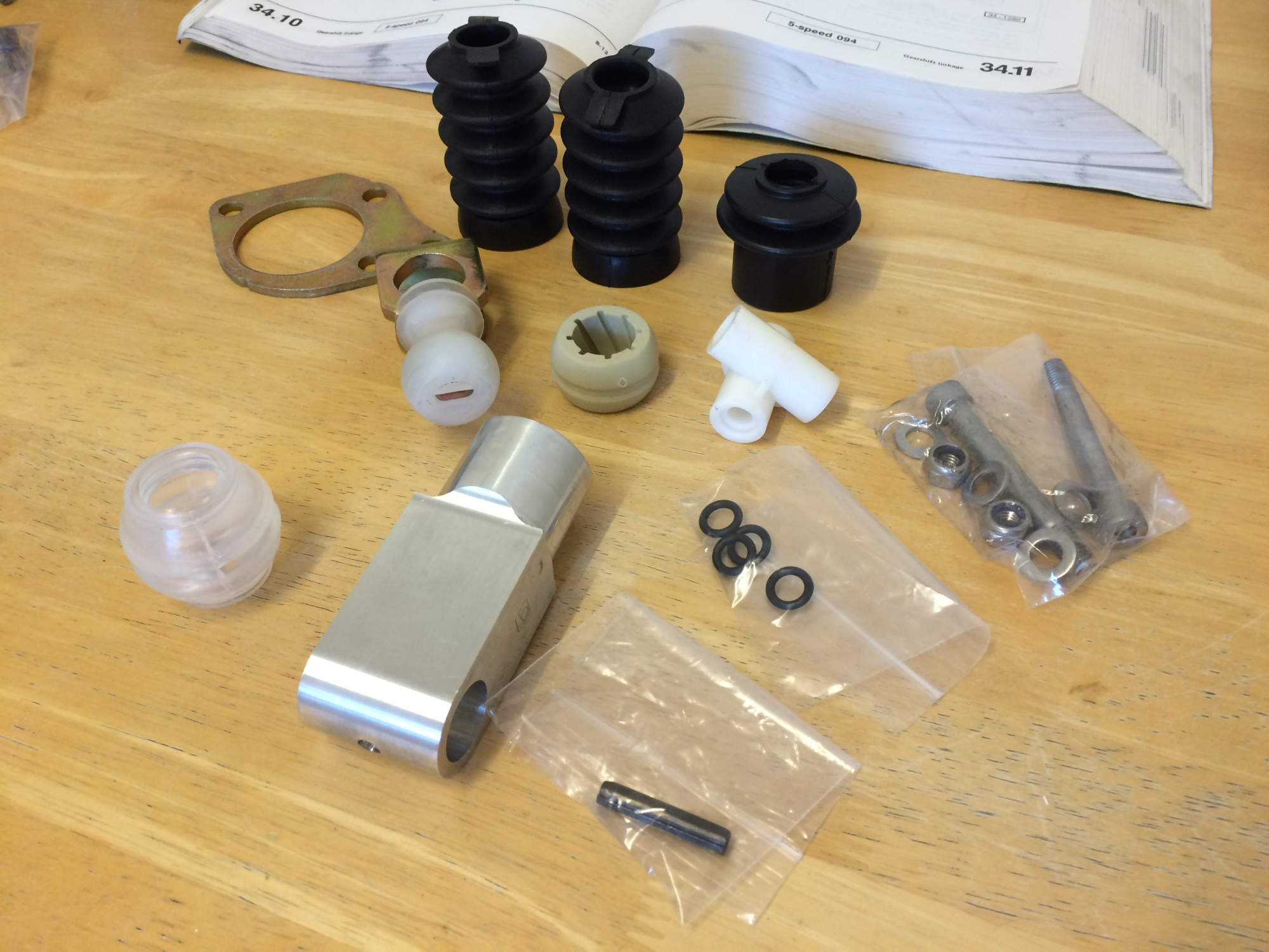 Gear Linkage Repair Kit from Brickwerks