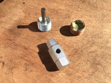 Magnetic Drain Plug, Filler Plug and 14mm/17mm Key