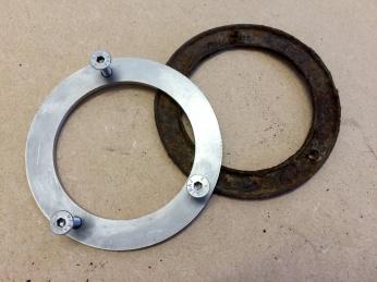 Stainless Steel Fuel Filler Neck Ring from Brickwerks
