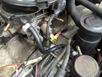 Fuel Pump outlet to Carburetor inlet