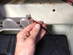 Cable fed through sleeve