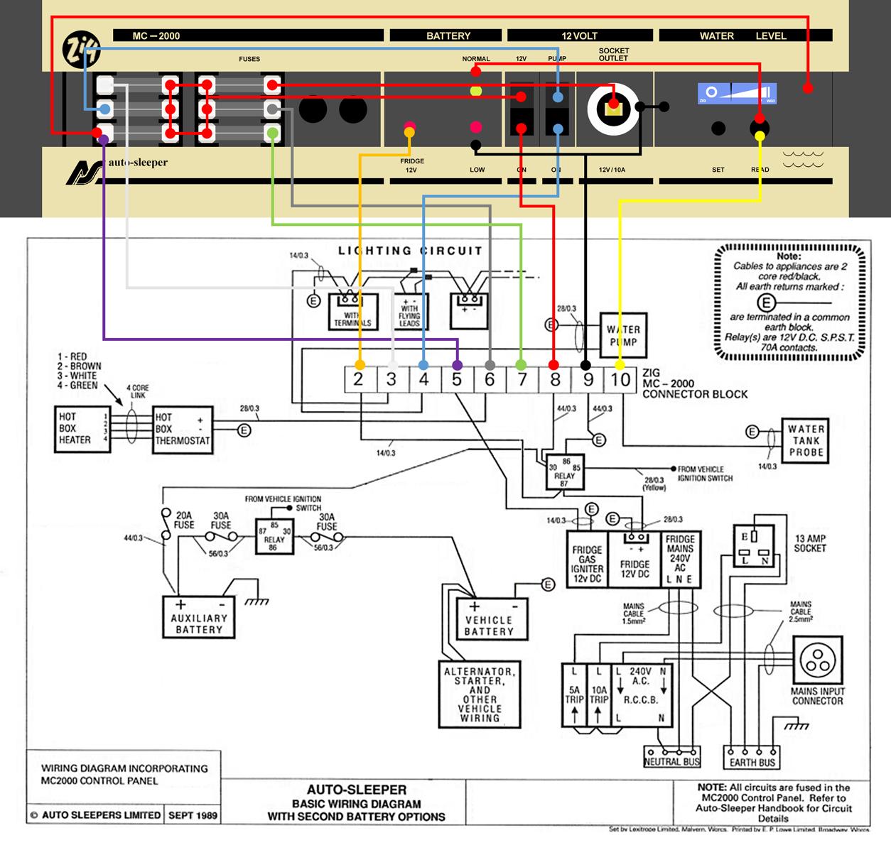Volkswagen T25 Wiring Diagram