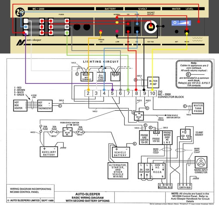 Zig MC-2000 Full Wiring Diagram