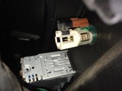 Lighter socket plug removed