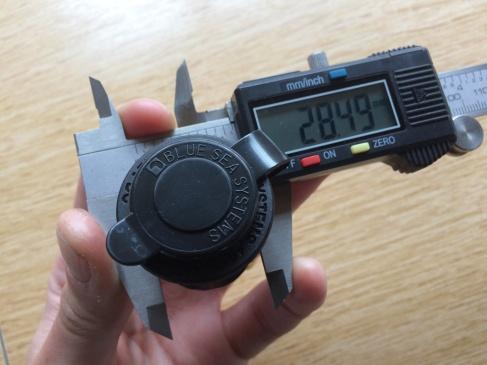 Measuring the Blue Sea USB socket