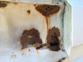 Additional holes near the pillar