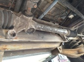 Steering column with bushes removed