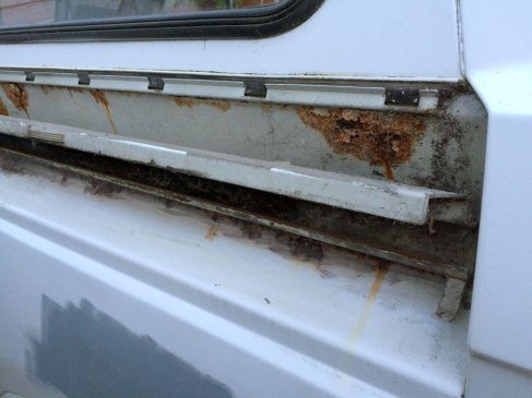 Cobwebs, rust and gunk