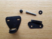 Top and bottom gaskets and mirror bolt