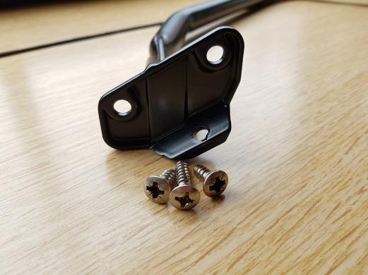 Upper bracket screws